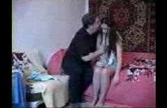 Русскую девушку трахнул сводный брат