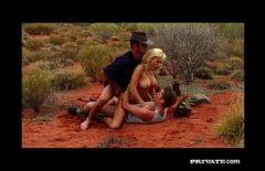 Трахнул две поляры в пустыне и получил мощный оргазм