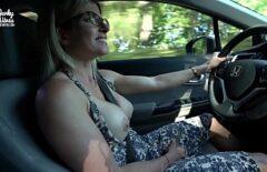 Веселый водитель очень хорошо трахается со своим шикарным парнем